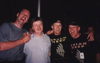 Uriah Heep in Roeselare. Belgium, 1999