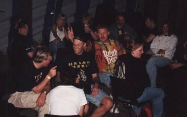 Uriah Heep in Roeselare, Belgium, 1999