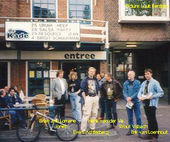 Uriah Heep in Zaandam 25-05-1999