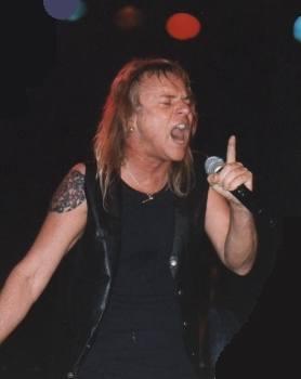Uriah Heep in Zaandam, Netherlands, 1999