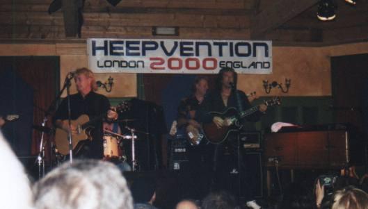 (Uriah) Heepvention, May 2000, London