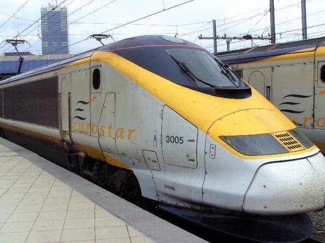 Eurostar to London