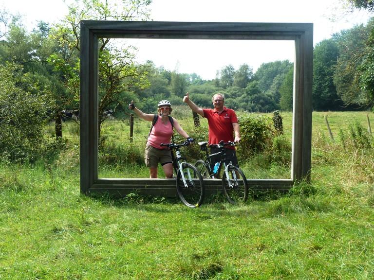 Biking in Bree (Belgium)