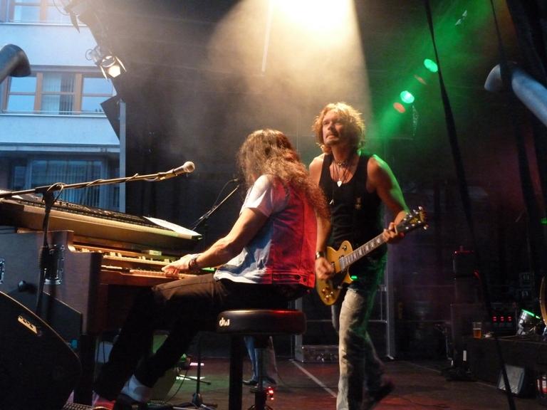 Ken Hensley & Live Fire in Bad Homburg 2013