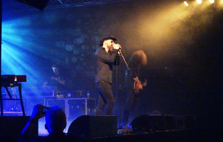 Voodoo Vegas opener for Uriah Heep in Metropool, Hengelo