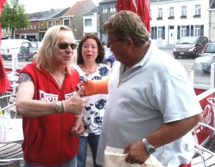 Uriah Heep in Belgium 2005, Bernie and Ab