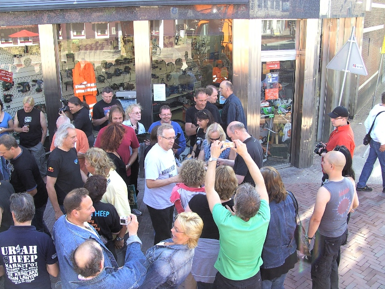 Uriah Heep - Preparty - 2008