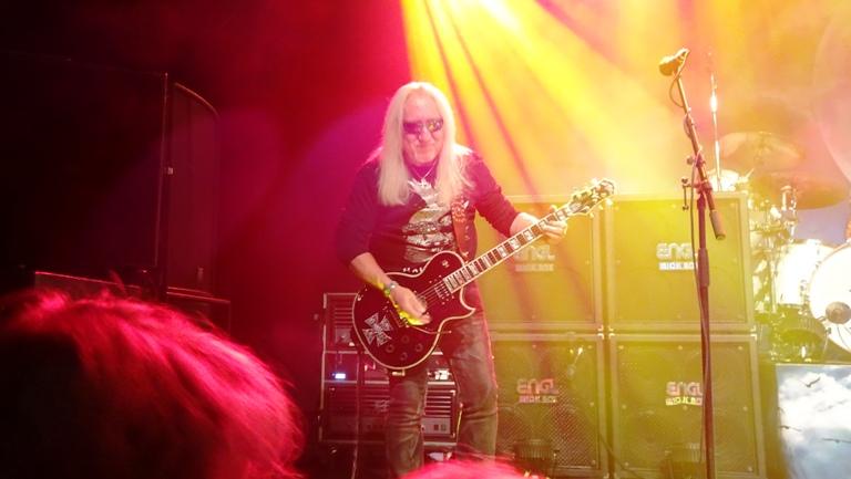 Uriah Heep sters on the web